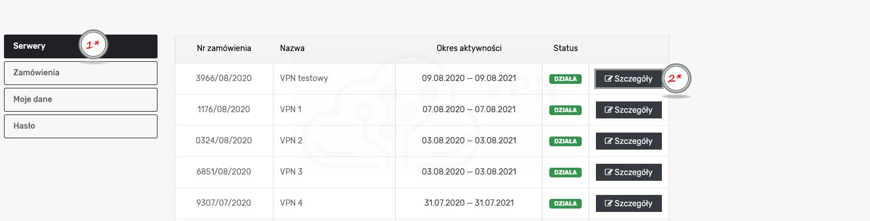 serwer VPN 1